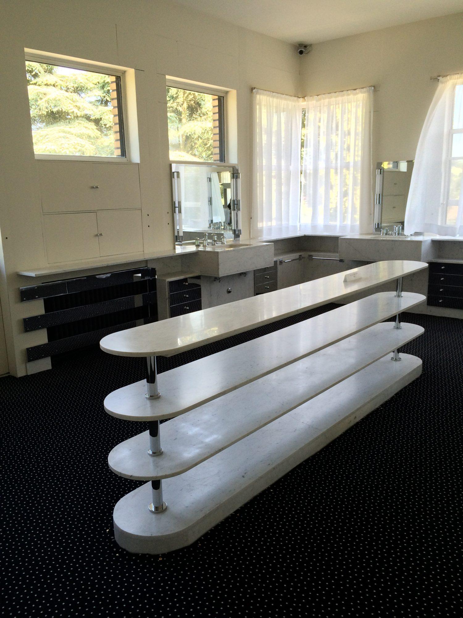 Maison Cavrois Salle de bains