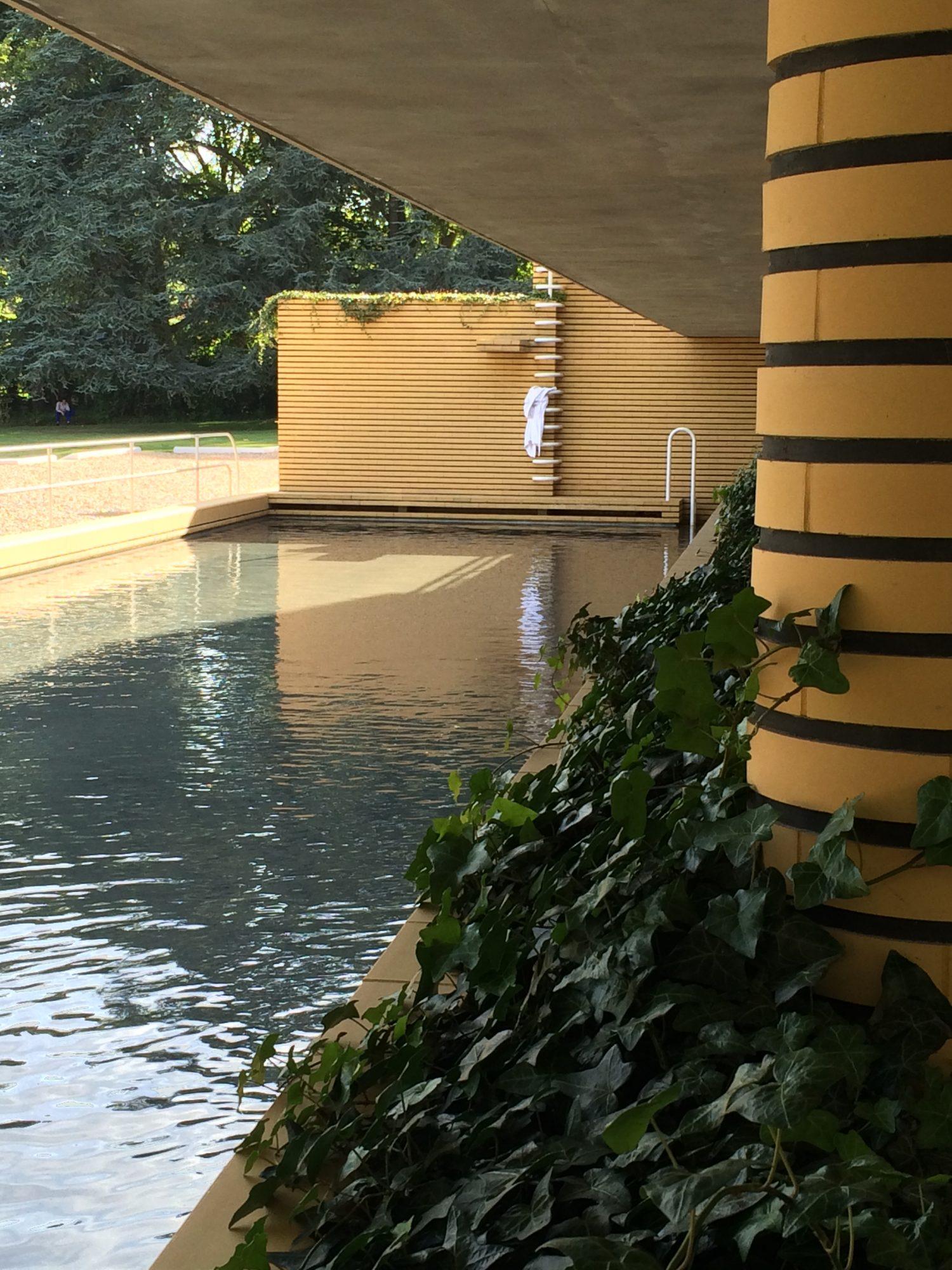 Bassin de natation Maison Cavrois