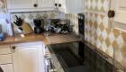 Relooking de la cuisine d'un mas à Saze, Gard, par Kty.L, décoratrice UFDI, Avignon (84), Nîmes(30) : photo avant travaux, zoom crédence
