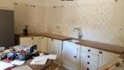 Relooking de la cuisine d'un mas à Saze, Gard, par Kty.L, décoratrice UFDI, Avignon (84), Nîmes(30) : vue des travaux
