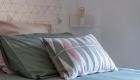 des gîtes dans un mas sur Saze, par Kty.L, décoratrice UFDI à saze (30) : harmonie des couleurs du linge de lit