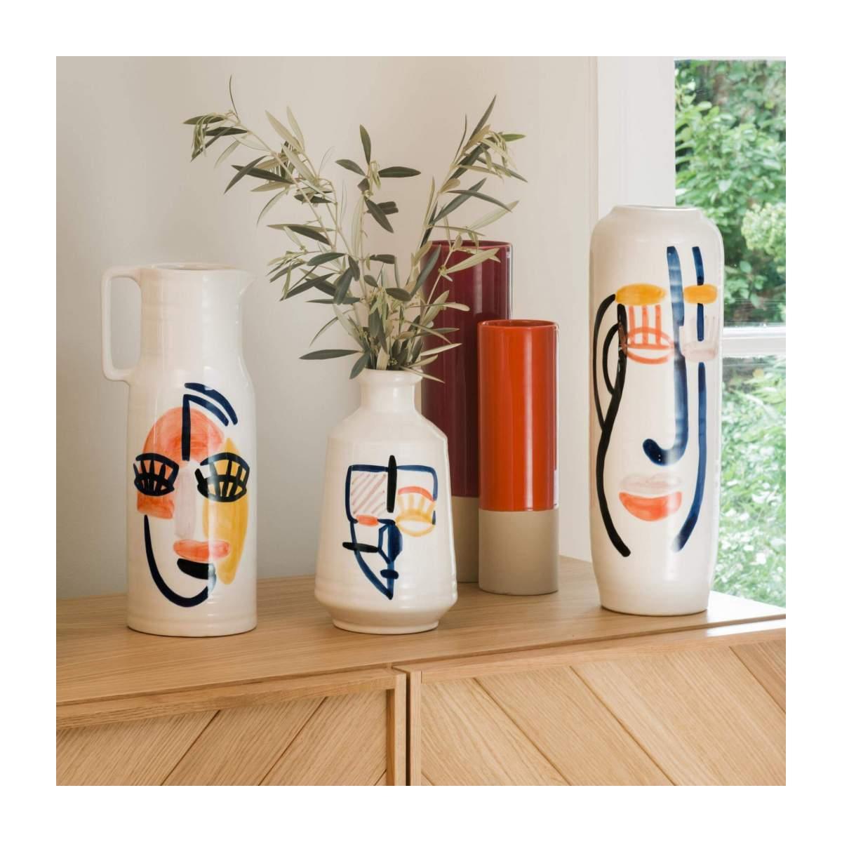 Tendances déco 2020-2021 : KtyL Décoratrice UFDI dans le Gard et le Vaucluse, présente les vases arty de chez Habitat